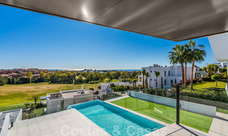 New impressive contemporary luxury villa for sale with stunning golf and sea views in Marbella - Benahavis 25797