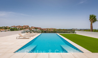 New impressive contemporary luxury villa for sale with stunning golf and sea views in Marbella - Benahavis 25798