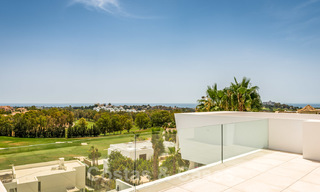 New impressive contemporary luxury villa for sale with stunning golf and sea views in Marbella - Benahavis 25800