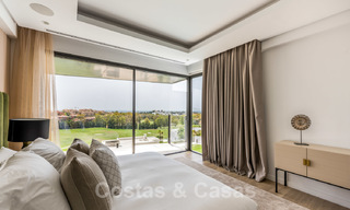 New impressive contemporary luxury villa for sale with stunning golf and sea views in Marbella - Benahavis 25815