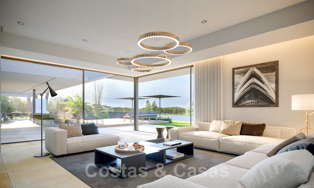 Brand new ultra-modern luxury villa for sale with sea views in Marbella - Benahavis 25817