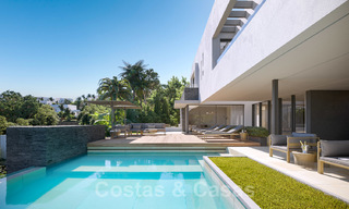 Brand new ultra-modern luxury villa for sale with sea views in Marbella - Benahavis 25818