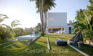 Brand new ultra-modern luxury villa for sale with sea views in Marbella - Benahavis 25819