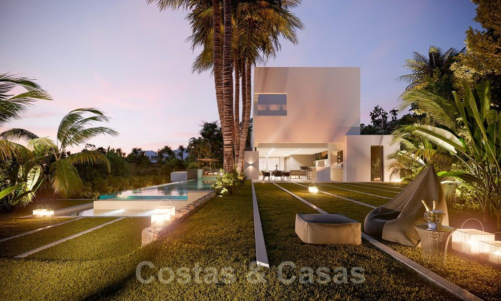 Brand new ultra-modern luxury villa for sale with sea views in Marbella - Benahavis 25820