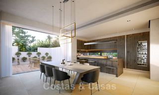 Brand new ultra-modern luxury villa for sale with sea views in Marbella - Benahavis 25821