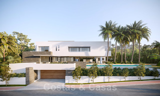 Brand new ultra-modern luxury villa for sale with sea views in Marbella - Benahavis 25822