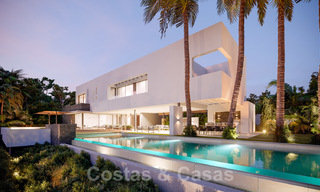 Brand new ultra-modern luxury villa for sale with sea views in Marbella - Benahavis 25823