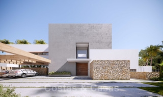 Brand new ultra-modern luxury villa for sale with sea views in Marbella - Benahavis 25824