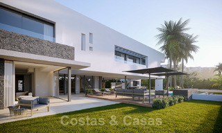 Brand new ultra-modern luxury villa for sale with sea views in Marbella - Benahavis 25825