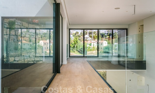 Ready to move in new modern luxury villa for sale, located directly on the golf course in Marbella - Benahavis 25851