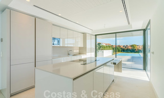 Ready to move in new modern luxury villa for sale, located directly on the golf course in Marbella - Benahavis 25859