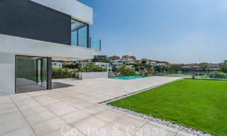 Ready to move in new modern luxury villa for sale, located directly on the golf course in Marbella - Benahavis 25869