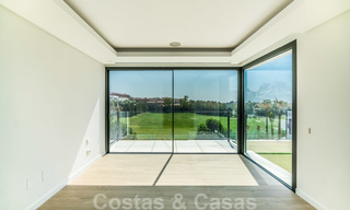 Ready to move in new modern luxury villa for sale, located directly on the golf course in Marbella - Benahavis 25872