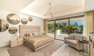 Move in ready, modern beachside villa for sale in the prestigious Guadalmina Baja in Marbella 26082