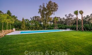 Move in ready, modern beachside villa for sale in the prestigious Guadalmina Baja in Marbella 26102