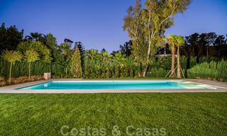Move in ready, modern beachside villa for sale in the prestigious Guadalmina Baja in Marbella 26105