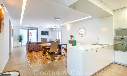 Completely renovated modern luxury apartment for sale in the marina of Puerto Banus, Marbella 26237