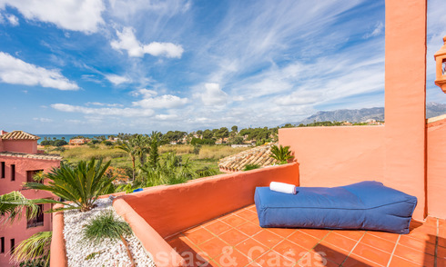 Renovated spacious penthouse apartment for sale with 4 bedrooms in a beach complex in eastern Marbella 26391