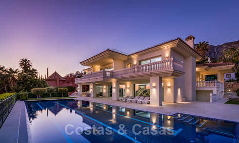 Luxury villa with panoramic sea views for sale in Sierra Blanca, Marbella 26419