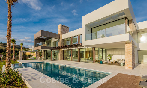 Modern new luxury villa with stunning golf views for sale in Benahavis - Marbella 26615