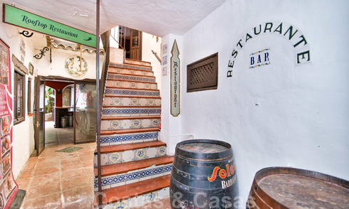 Bar - Restaurant for sale in the historical centre of Marbella. Open to offers! 27096