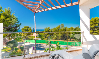 Modern luxury corner house with sea view for sale in the exclusive Sierra Blanca, Marbella 27137