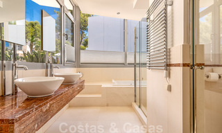 Modern luxury corner house with sea view for sale in the exclusive Sierra Blanca, Marbella 27140