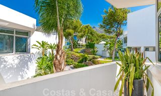 Modern luxury corner house with sea view for sale in the exclusive Sierra Blanca, Marbella 27141