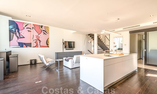 Modern luxury corner house with sea view for sale in the exclusive Sierra Blanca, Marbella 27145