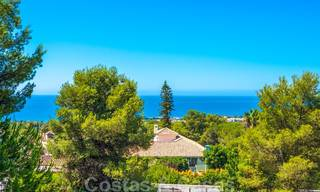 Modern luxury corner house with sea view for sale in the exclusive Sierra Blanca, Marbella 27151
