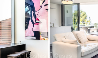 Modern luxury corner house with sea view for sale in the exclusive Sierra Blanca, Marbella 27152