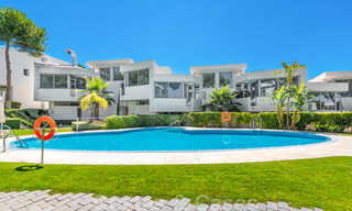 Modern luxury corner house with sea view for sale in the exclusive Sierra Blanca, Marbella 27156