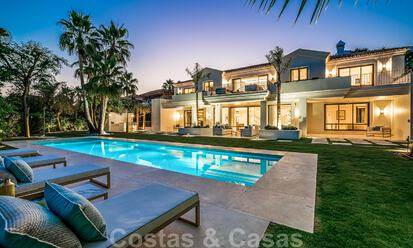 Luxury classic family villa for sale in Sierra Blanca, Marbella 32197