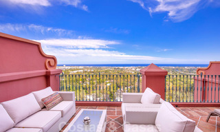 Luxury penthouse apartment with panoramic views over the entire coast for sale, close to amenities and golf, Benahavis - Marbella 27519