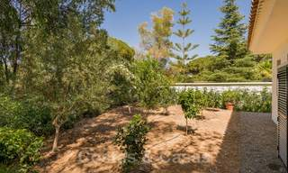 Ready to move in contemporary Mediterranean villa with sea views for sale at a short walking distance to the beach and all amenities, beach side Elviria in Marbella 27540