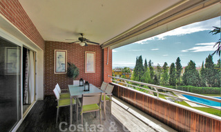 5-bedroom penthouse apartment for sale on the Golden Mile, short stroll to the beach and Marbella town 27639