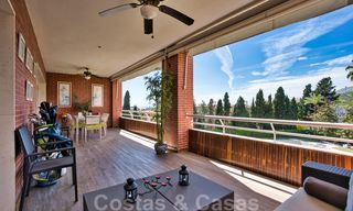5-bedroom penthouse apartment for sale on the Golden Mile, short stroll to the beach and Marbella town 27647