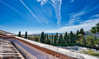 5-bedroom penthouse apartment for sale on the Golden Mile, short stroll to the beach and Marbella town 27651