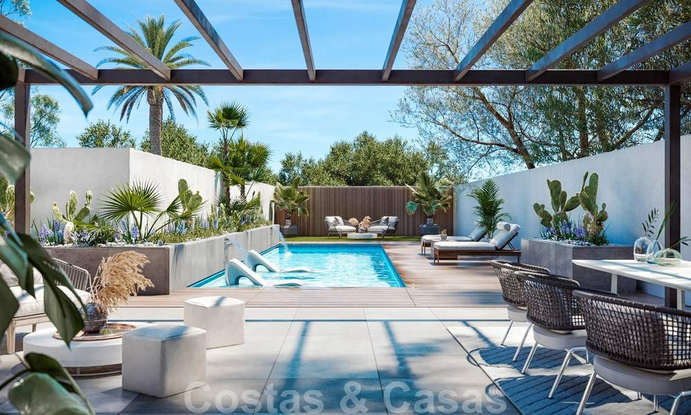 Unique opportunity, elegantly renovated villa in the heart of the Golf Valley in Nueva Andalucia, Marbella. Close to Puerto Banus. 28059