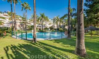 Renovated flat for sale in the iconic first line beach complex Gray D'Albion in Puerto Banus, Marbella 28340