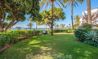 Renovated flat for sale in the iconic first line beach complex Gray D'Albion in Puerto Banus, Marbella 28341