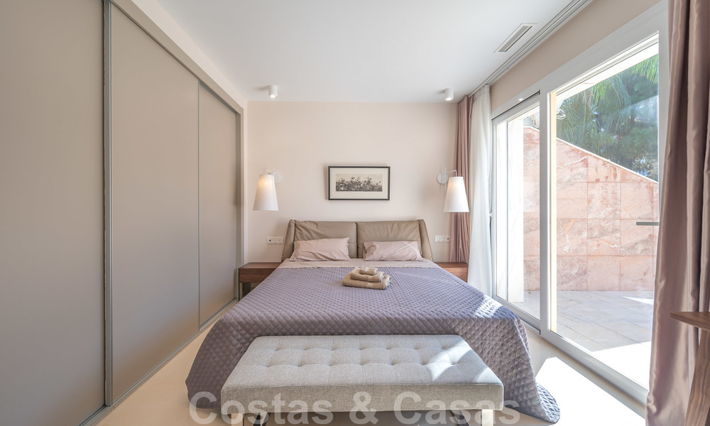 Renovated flat for sale in the iconic first line beach complex Gray D'Albion in Puerto Banus, Marbella 28345