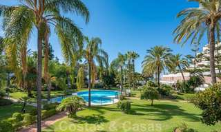 Renovated flat for sale in the iconic first line beach complex Gray D'Albion in Puerto Banus, Marbella 28350