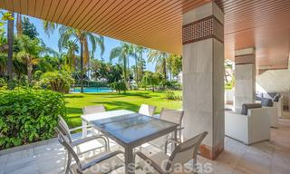 Renovated flat for sale in the iconic first line beach complex Gray D'Albion in Puerto Banus, Marbella 28393