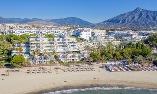 Renovated flat for sale in the iconic first line beach complex Gray D'Albion in Puerto Banus, Marbella 28399