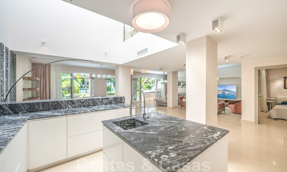 Renovated flat for sale in the iconic first line beach complex Gray D'Albion in Puerto Banus, Marbella 28407