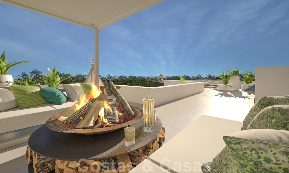 Exclusive, modern new build villa for sale close to the beach in East Marbella 28608