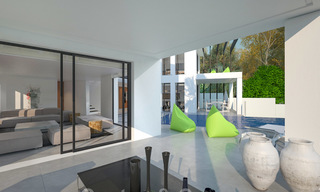 Exclusive, modern new build villa for sale close to the beach in East Marbella 28609
