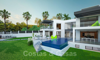 Exclusive, modern new build villa for sale close to the beach in East Marbella 28610