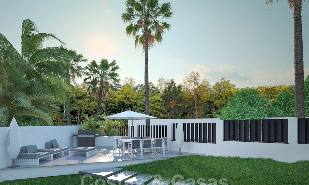 Exclusive, modern new build villa for sale close to the beach in East Marbella 28611